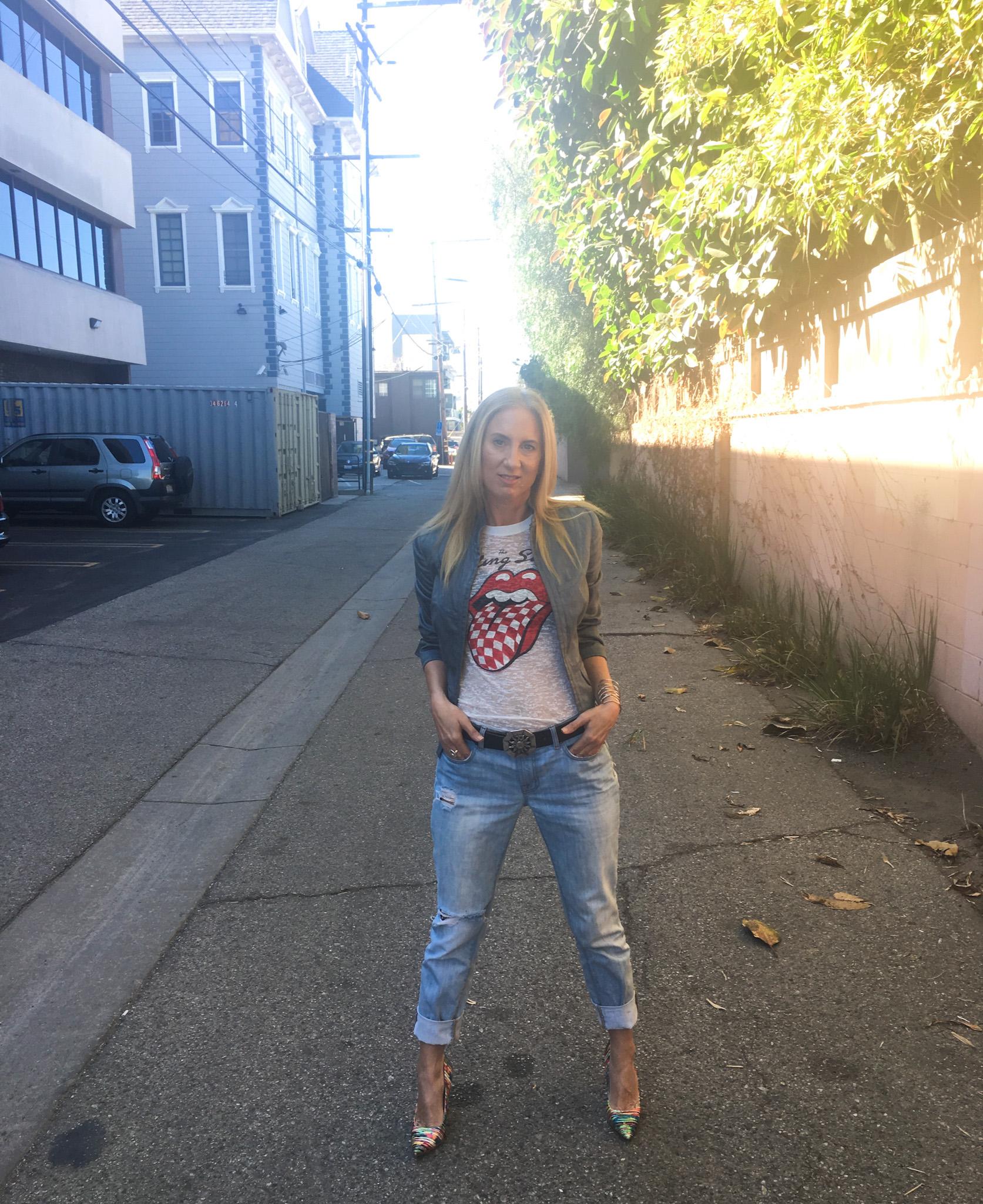 Rolling Stones Blazer