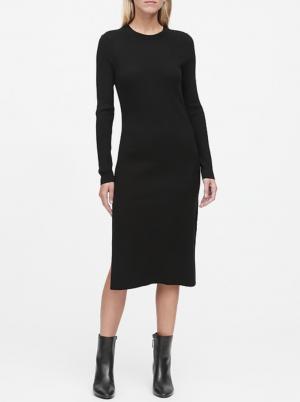 Ribbed Sweater Dress